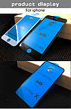 Защитное стекло 9D для Iphone 6   Чёрное Premium качество, фото 9