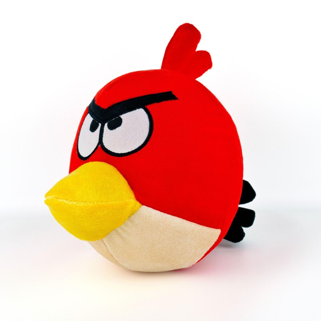 Злые птицы Ред мягкая игрушка