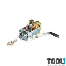 Лебедка ручная для авто тросовая Sigma 1000lbs (6134011)