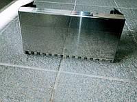 Каретка ТEХНО инструмент нержавейка, для нанесения клеевого раствора для газобетона