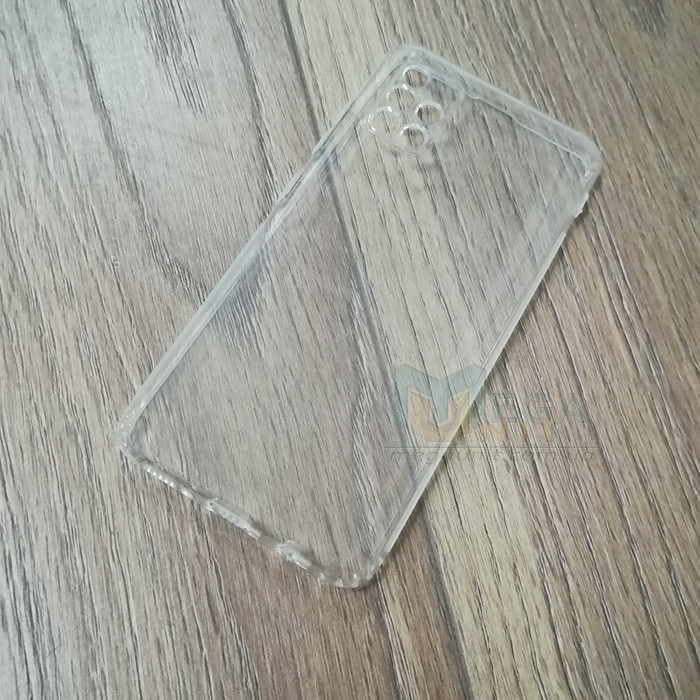 Силиконовый чехол KST для Samsung Galaxy A71 (a715) с защитой от пыли и ударов. Прозрачный