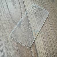 Силиконовый чехол KST для Samsung Galaxy A71 (a715) с защитой от пыли и ударов. Прозрачный, фото 1