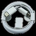 Кабель USB cable Foxconn Type-C to Type-C белый для Apple MacBook/iPad, фото 2
