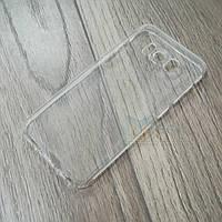Силиконовый чехол KST для Samsung Galaxy S8 (g950) с защитой от пыли и ударов. Прозрачный, фото 1