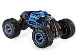 Трюковая машина-трансформер, перевёртыш, джип Rock Crawler  на радиоуправлении, полный привод, аккум. 6V, фото 10