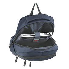 Рюкзак для ноутбука LEADFAS синий  46х32х15 ткань полиєстер    кс86036син, фото 3