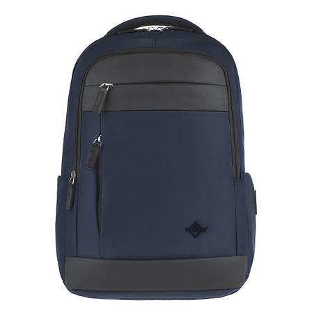 Рюкзак для ноутбука LEADFAS синий  46х32х15 ткань полиєстер    кс86036син, фото 2