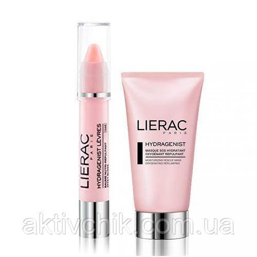 Набор Lierac Гидраженист маска 75 мл+ гидраженист для губ розовый 3г