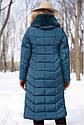 Пальто женское зимнее бренда Nui Very Дайкири3 изумруд размер 48, фото 2