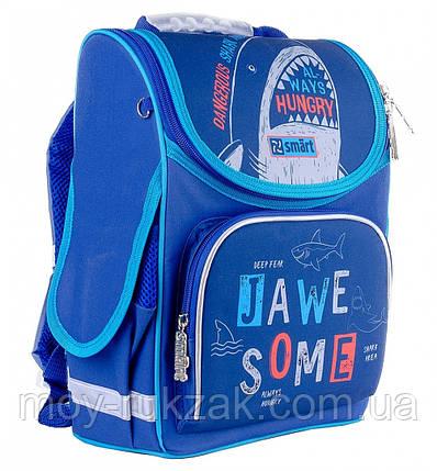 """Рюкзак школьный ортопедический, каркасный, «1 Вересня Smart» PG-11 """"Jawe Some"""" 558085, фото 2"""