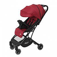 Детская прогулочная коляска красная Tilly Bella чехол на ножки сумка москитная сетка дождевик с 6 до 36месяцев