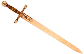 Меч деревянный короля Артура Экскалибур