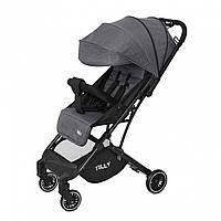 Детская прогулочная коляска серая Tilly Bella T-163 Anchor Grey для деток 6 до 36 месяцев