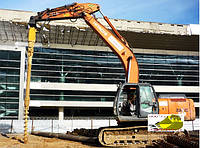 Буровое оборудование на экскаваторы 10-40 тонн
