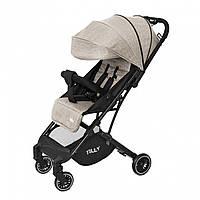 Детская прогулочная коляска бежевая Tilly Bella чехол на ножки сумка москитная сетка дождевик с 6 до 36месяцев