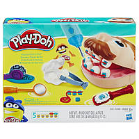 Набор для лепки Hasbro Play-Doh Мистер Зубастик (обновленный), 5 цветов (B5520). Подарок ребенку от 3 лет