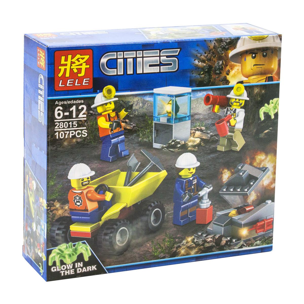 Конструктор Cities: шахтёры  107 дет