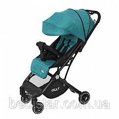 Детская прогулочная коляска зеленая Tilly Bella T-163 Pear Green для деток 6 до 36 месяцев