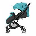 Дитяча прогулянкова коляска зелена Tilly Bella T-163 Pear Green для діток від 6 до 36 місяців, фото 2