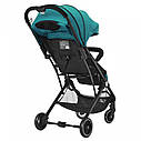 Дитяча прогулянкова коляска зелена Tilly Bella T-163 Pear Green для діток від 6 до 36 місяців, фото 4