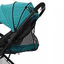 Дитяча прогулянкова коляска зелена Tilly Bella T-163 Pear Green для діток від 6 до 36 місяців, фото 5
