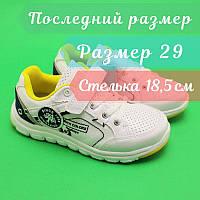 Белые кроссовки BI&KI застежка липучка размер 29, фото 1