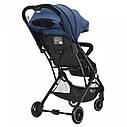 Детская прогулочная коляска синяя Tilly Bella чехол на ножки сумка москитная сетка дождевик от 6 до 36 месяцев, фото 3