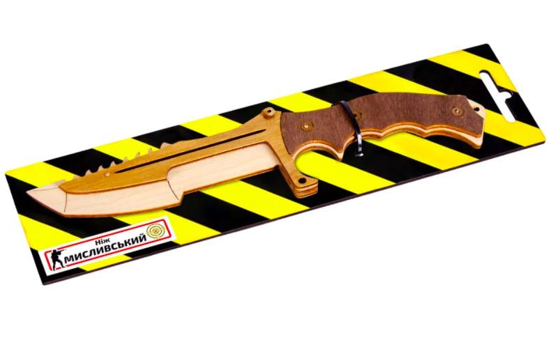 Нож Охотничий деревянный из игры Counter Strike Global Offensive