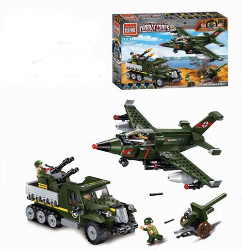 Конструктор Combat Zones: Воздушно-наземный бой, 438 деталей