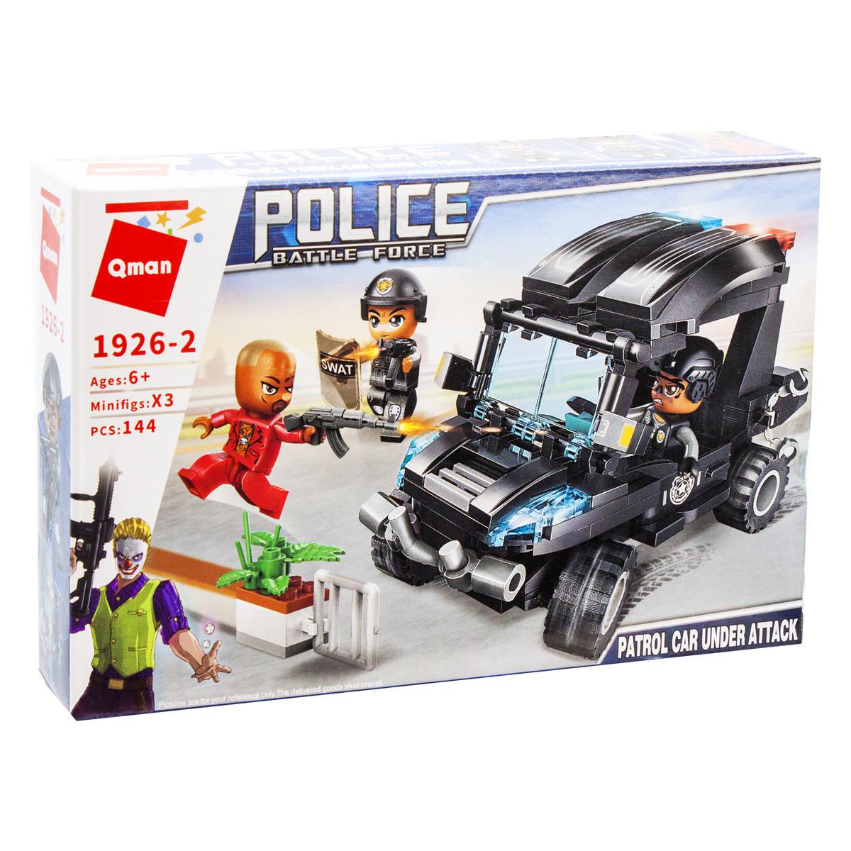Конструктор Полиция: Нападение на патрульную машину, 144 детали