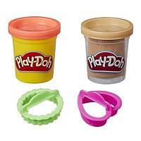 Детский игровой набор пластилина Hasbro Play-Doh Мини-сладости (розовый, коричневый)