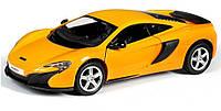 """Машинка инерционная детская коллекционная """"McLaren 650S"""" Uni-Fortune, оранжевая"""
