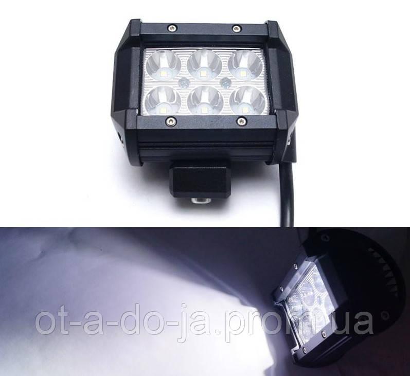 Автофара LED (6 LED) 5D-18W-SPOT