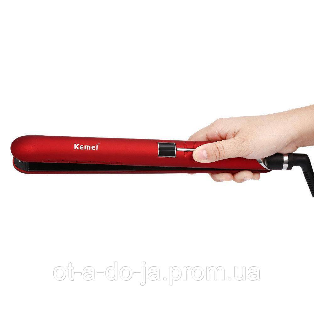 Утюжок-выпрямитель для волос Kemei JB-KM-2205