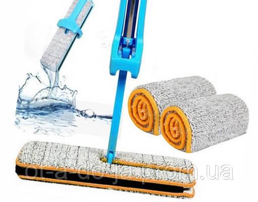 Самоотжимающаяся швабра лентяйка Switch N Clean