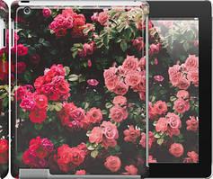 """Чехол на iPad 2/3/4 Куст с розами """"2729c-25"""""""