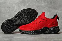 Женские кроссовки в стиле Jomix, текстиль, красные с черным, 38(24,5 см), в наличии:38,39,41