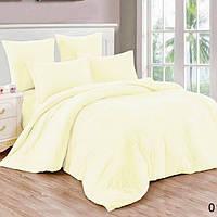 Ткань постельная однотонная  Бязь Голд Люкс цвета Ванили