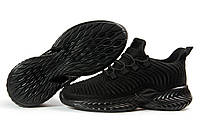 Женские кроссовки в стиле Jomix, текстиль, черные, 37(24 см), в наличии:37,38,39,41