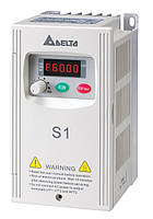 Преобразователь частоты Delta Electronics, 0,4 кВт, 230В,1ф.,скалярный,VFD004S21E