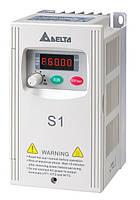 Преобразователь частоты Delta Electronics, 0,75 кВт, 230В,1ф.,скалярный,VFD007S21E