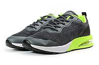 Мужские кроссовки в стиле Jomix, текстиль, серые, 41(26,6 см), в наличии:41,42,43,44,45,46