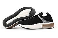 Женские кроссовки в стиле Navigator, текстиль, черные, 36(23,2 см), в наличии:36,37,38,39,40,41