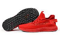 Мужские кроссовки в стиле Navigator 5G-Hwei, текстиль, красные, 41(25 см), в наличии:41,43,44,45,46
