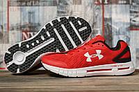 Мужские кроссовки в стиле Under Armour Hovr, текстиль, красные, 41(26 см), размеры:41,43,44,45