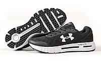 Мужские кроссовки в стиле Under Armour Hovr, текстиль, серые, 42(26,7 см), размеры:42,43,44,45,46