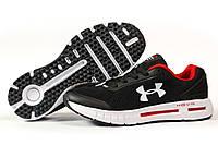Мужские кроссовки в стиле Under Armour Hovr, текстиль, черные, 42(26,7 см), размеры:42,43,44,45,46