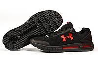 Мужские кроссовки в стиле Under Armour Hovr, текстиль, черные, 41(26 см), размеры:41,42,43,44