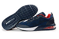 Мужские кроссовки в стиле Jomix, текстиль, синие, 41(26,6 см), в наличии:41,42,43,44,45
