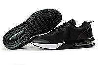Мужские кроссовки в стиле Jomix, текстиль, черные, 41(26,6 см), в наличии:41,43,44,45,46